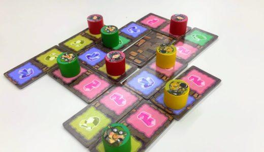 【ゲーム紹介】ジュエルディガー (Jewel Digger):宝石を集める陣取りタイル配置ゲーム!