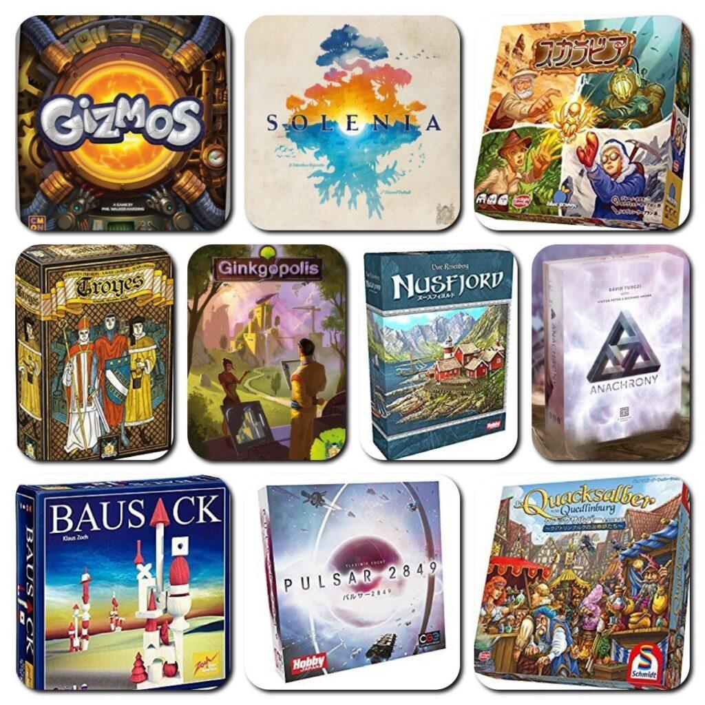 ニコボドが選ぶ!2018年、本当に遊んで面白かったボードゲームゲーム10選!!