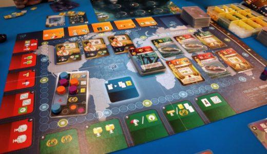 【ゲーム紹介】アンダーウォーターシティーズ (Underwater Cities):海底に都市を建設するワーカープレイスメントゲーム!