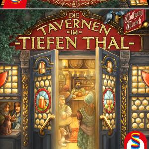 【レビュー】深い谷の酒場/ティーフェンタールの酒場 (Die Tavernen im Tiefen Thal)|酒場を充実させてお客を増やすデッキ構築&ダイスアクションゲーム!