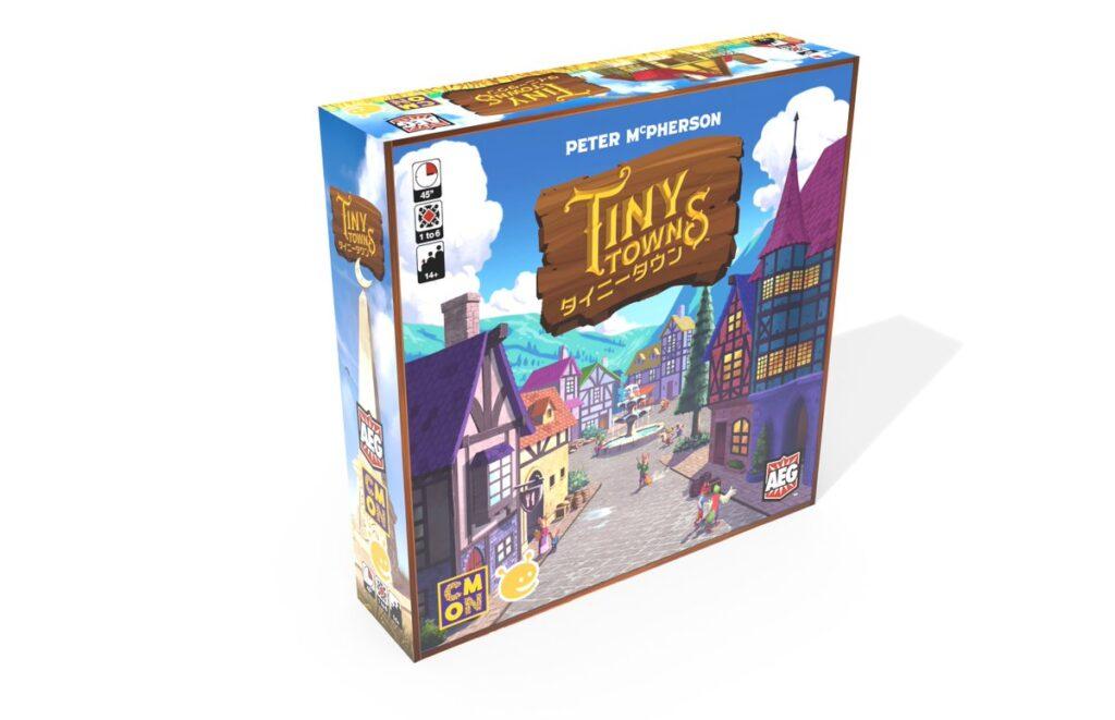 【レビュー】タイニータウン (Tiny Towns)