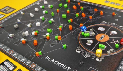 【ゲーム紹介】ブラックアウト:香港 (Blackout: Hong Kong)|大停電の香港を救い影響力を拡大する得点要素満載のゲーマーズゲーム!