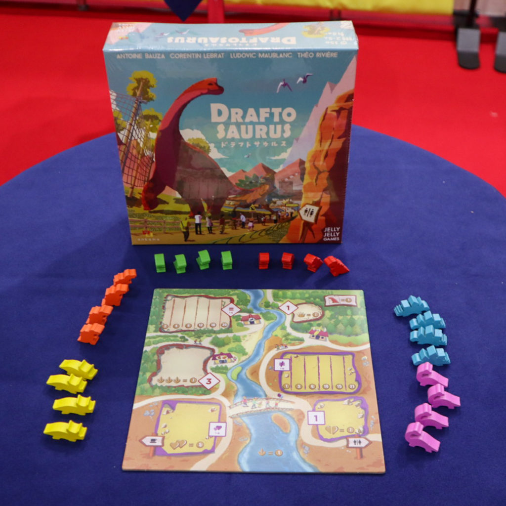 ドラフトサウルス|ゲームマーケット2020秋