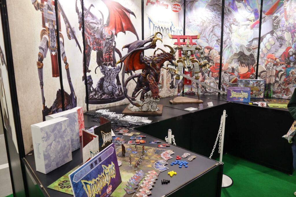 ドラゴンギアス展示|ゲームマーケット2020秋