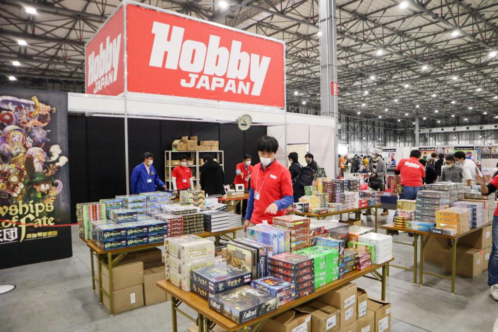 ホビージャパンブース|ゲームマーケット2020秋