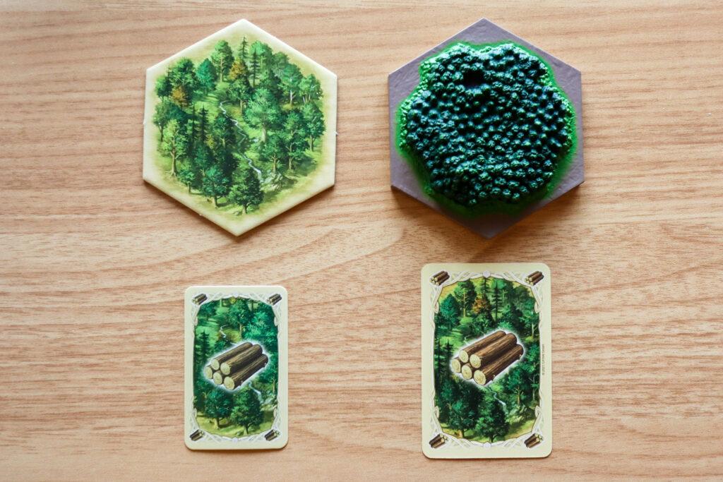 カタン|森林→木材