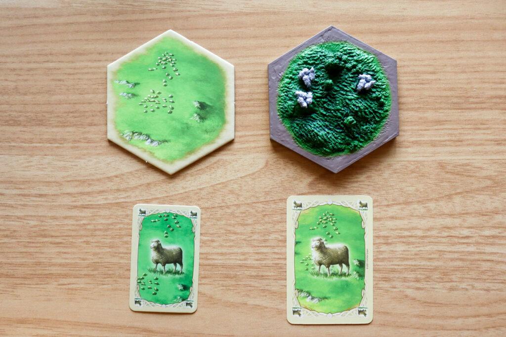 カタン|牧草地→羊毛