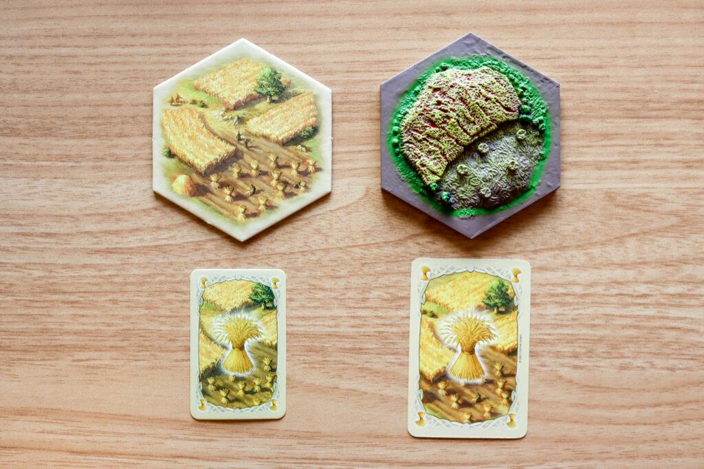カタン|畑→小麦