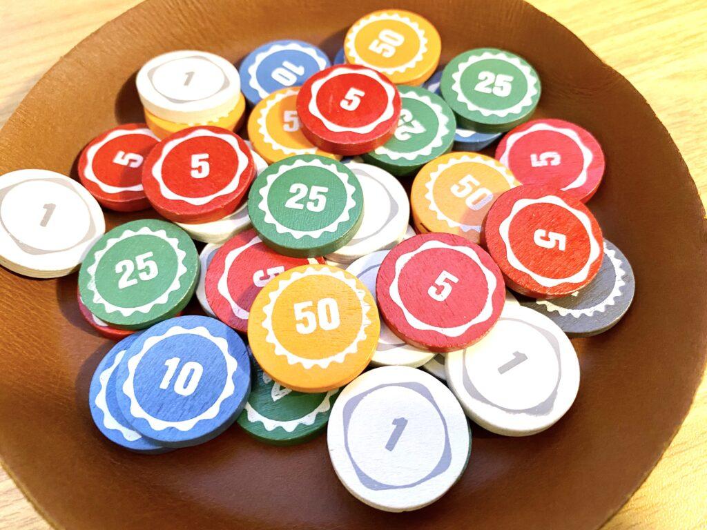 テンデイズゲームズ 木製コイン