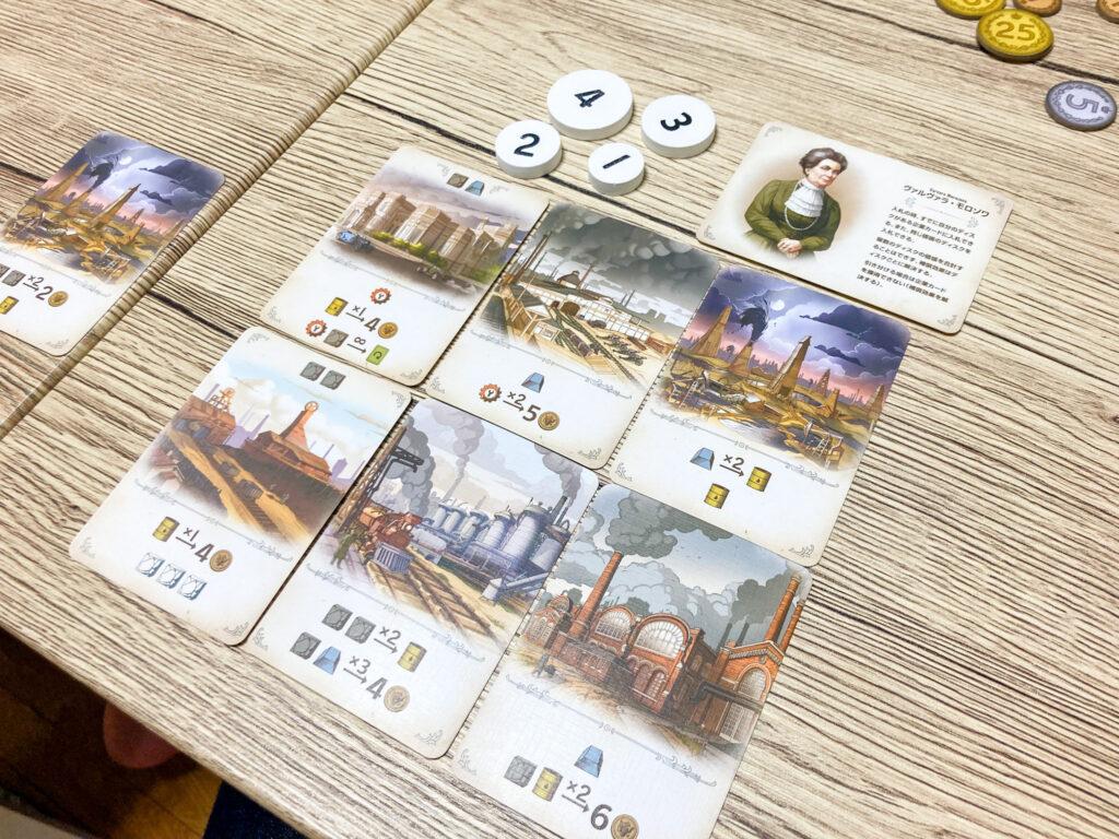 「ファーナス -ロシア産業革命-」はこんなゲーム