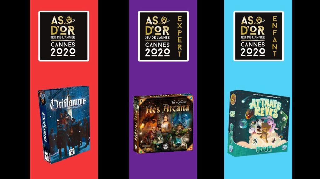 フランス年間ゲーム大賞2020(As d'Or 2020)