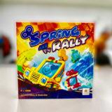 【ゲーム紹介】スプリングラリー (Spring Rally):ゼンマイを巻いて車を走らせるトリックテイキングゲーム!