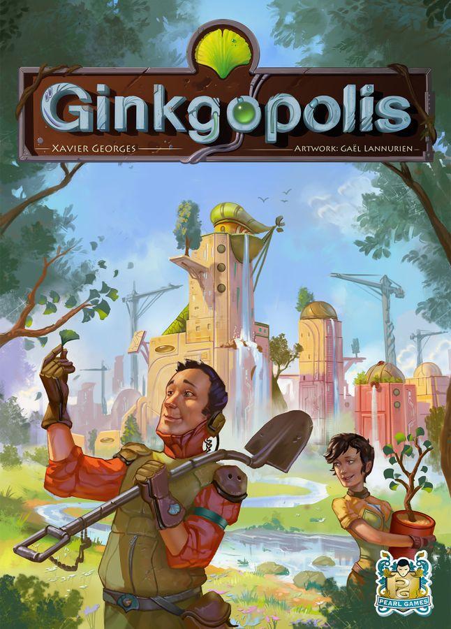 銀杏都市:ギンコポリス (Ginkgopolis)|パッケージ