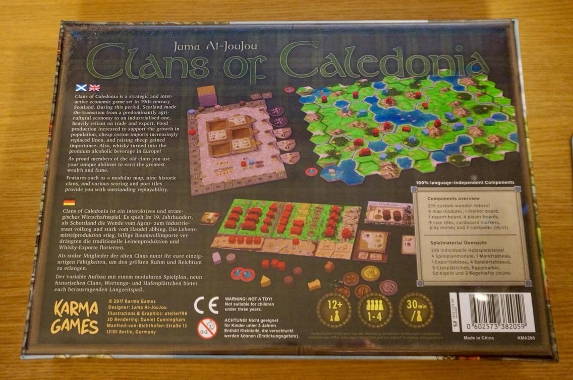 開封レビュー『クランズ・オブ・カレドニア (Clans of Caledonia)』