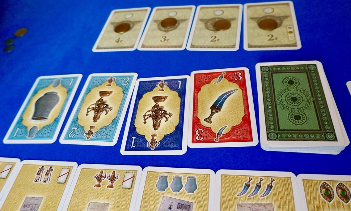 ゲーム紹介『マハラジャの遺産(Das Vermächtnis des Maharaja)』:骨董品カード