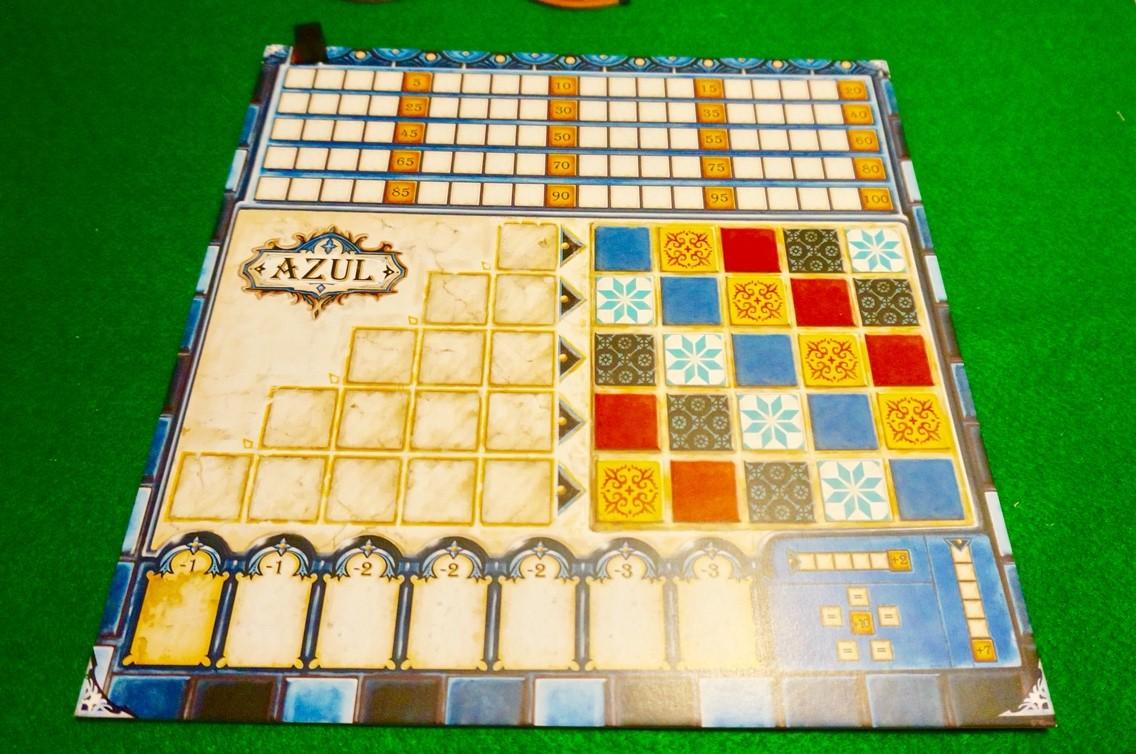 アズール(Azul):個人ボード