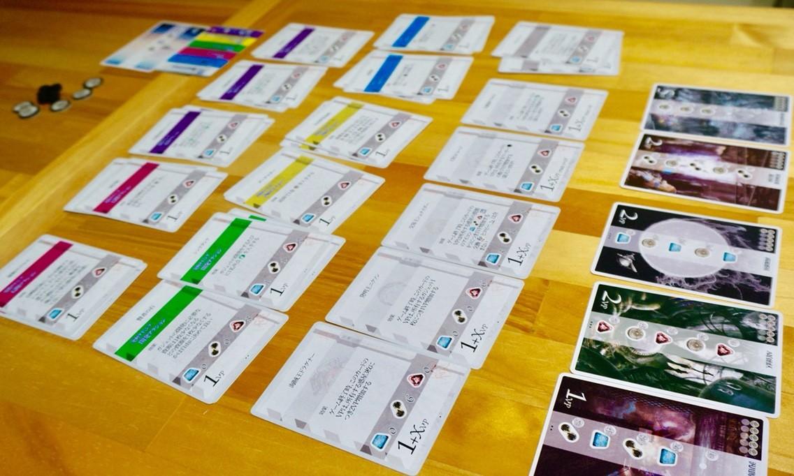 ゲーム紹介『プラネトリコ(Planeta Rica)』:ガジェットカード