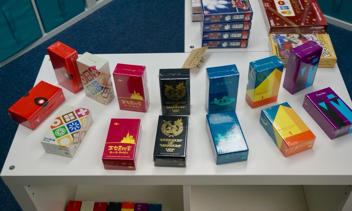 横浜・中華街/石川町のボードゲームショップ『リゴレ』:小箱ゲーム①