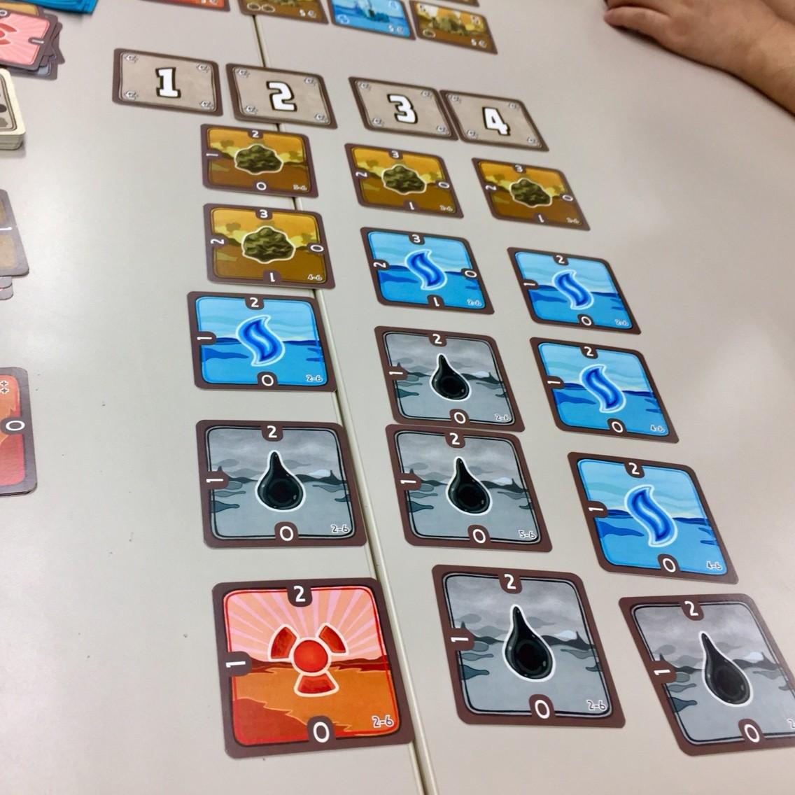 電力会社カードゲーム