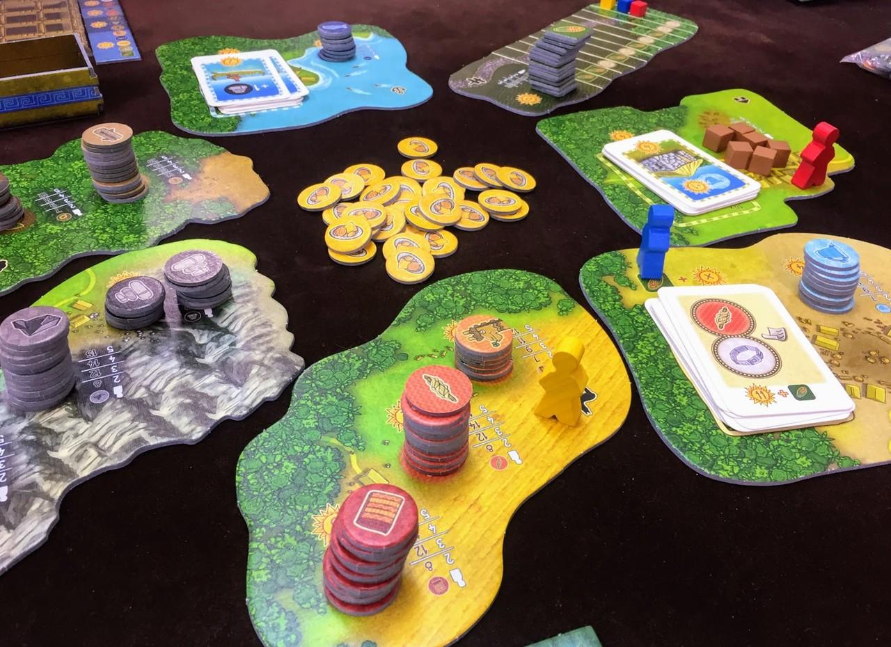 アルティプラーノ (Altiplano):ゲーム概要