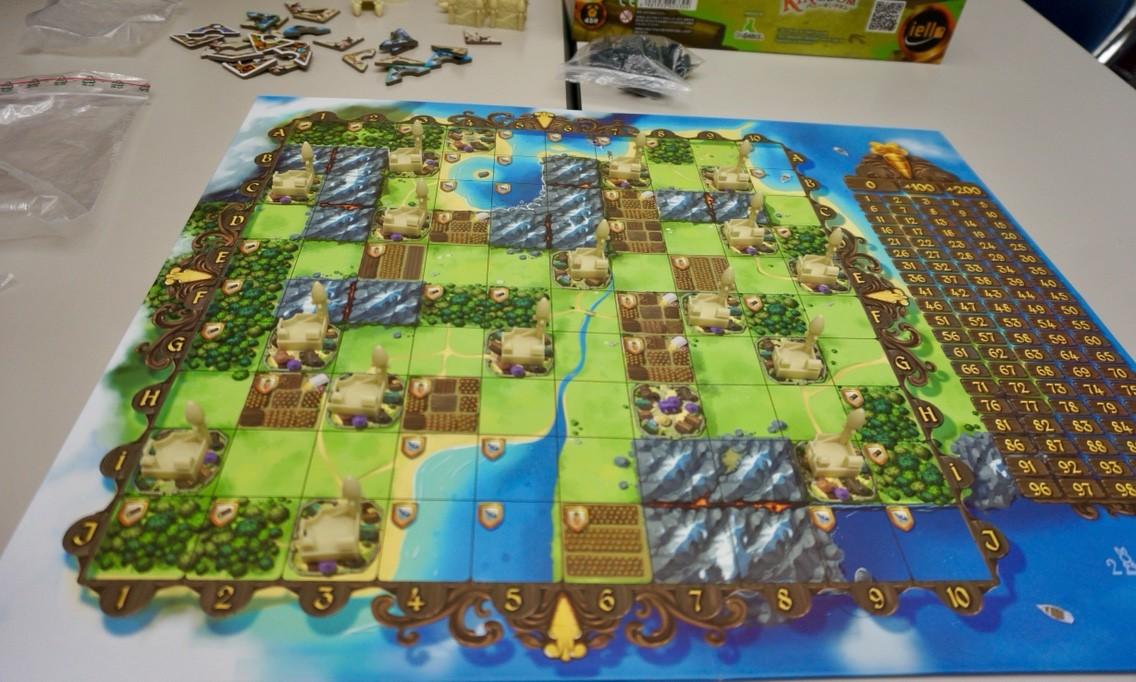 バニーキングダム:ゲームの準備
