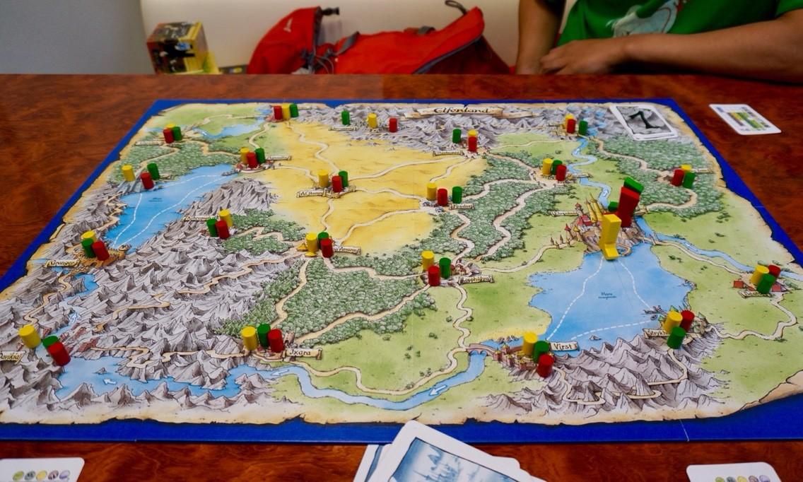 ゲーム紹介『エルフェンランド(Elfenland)』:ゲームの準備