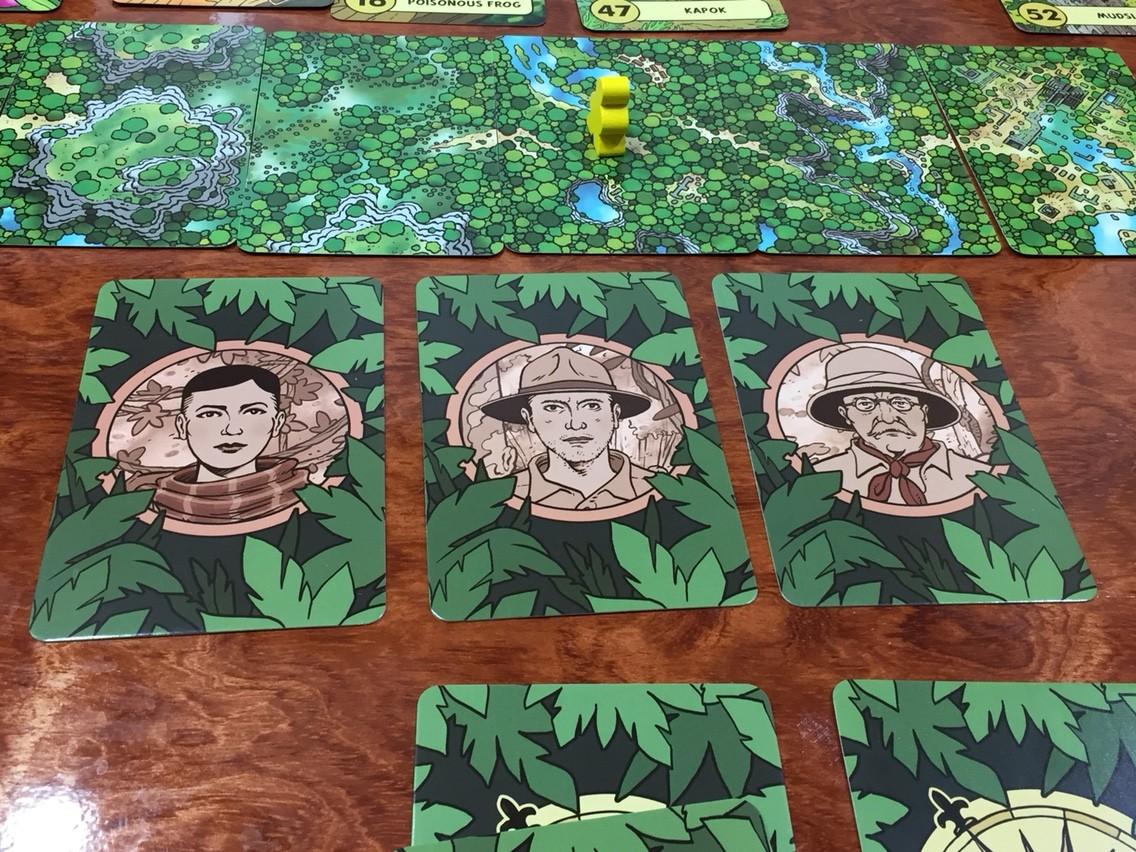 ロスト・エクスペディション(The Lost Expedition):ゲーム終了時の様子