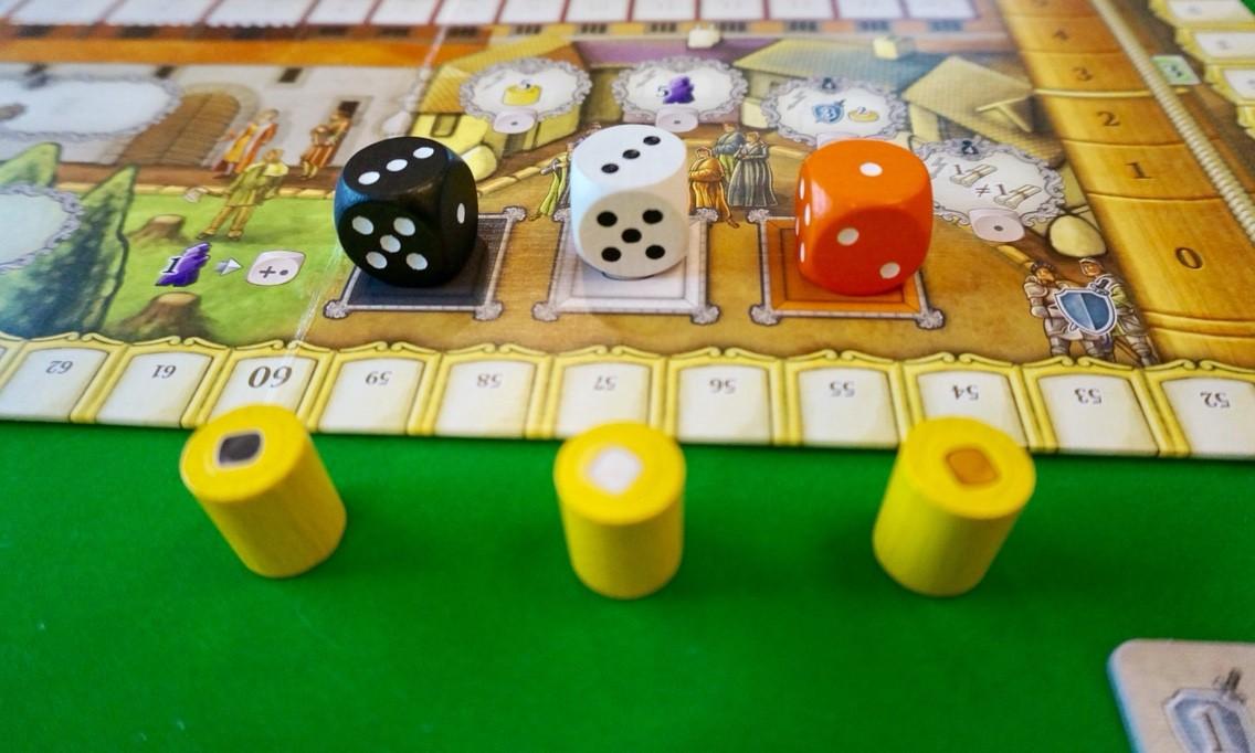 ゲーム紹介『ロレンツォ・イル・マニーフィコ』:家族駒について