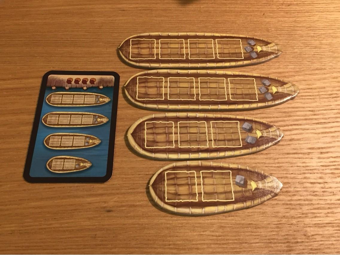 イムホテップ(Imhotep):船
