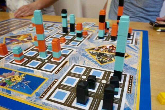 京都・ボードゲームカフェ『カフェミープル』:マンハッタン