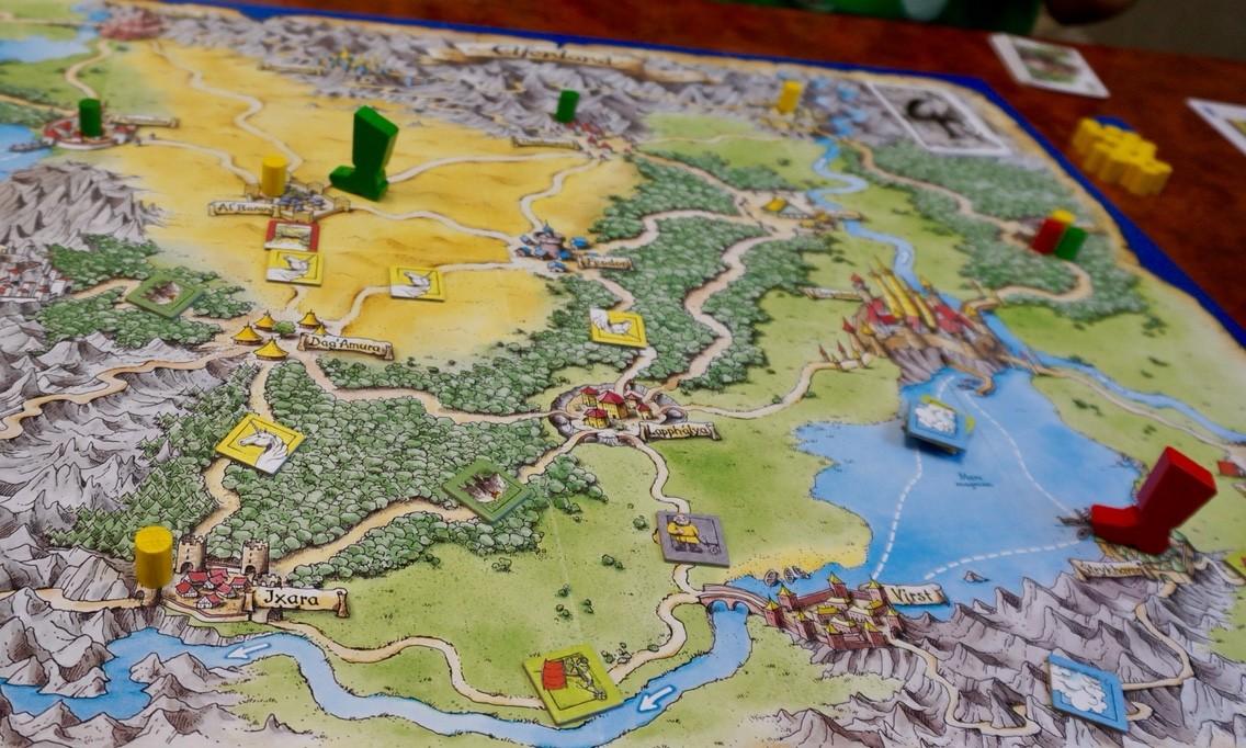 ゲーム紹介『エルフェンランド(Elfenland)』:タイルの配置
