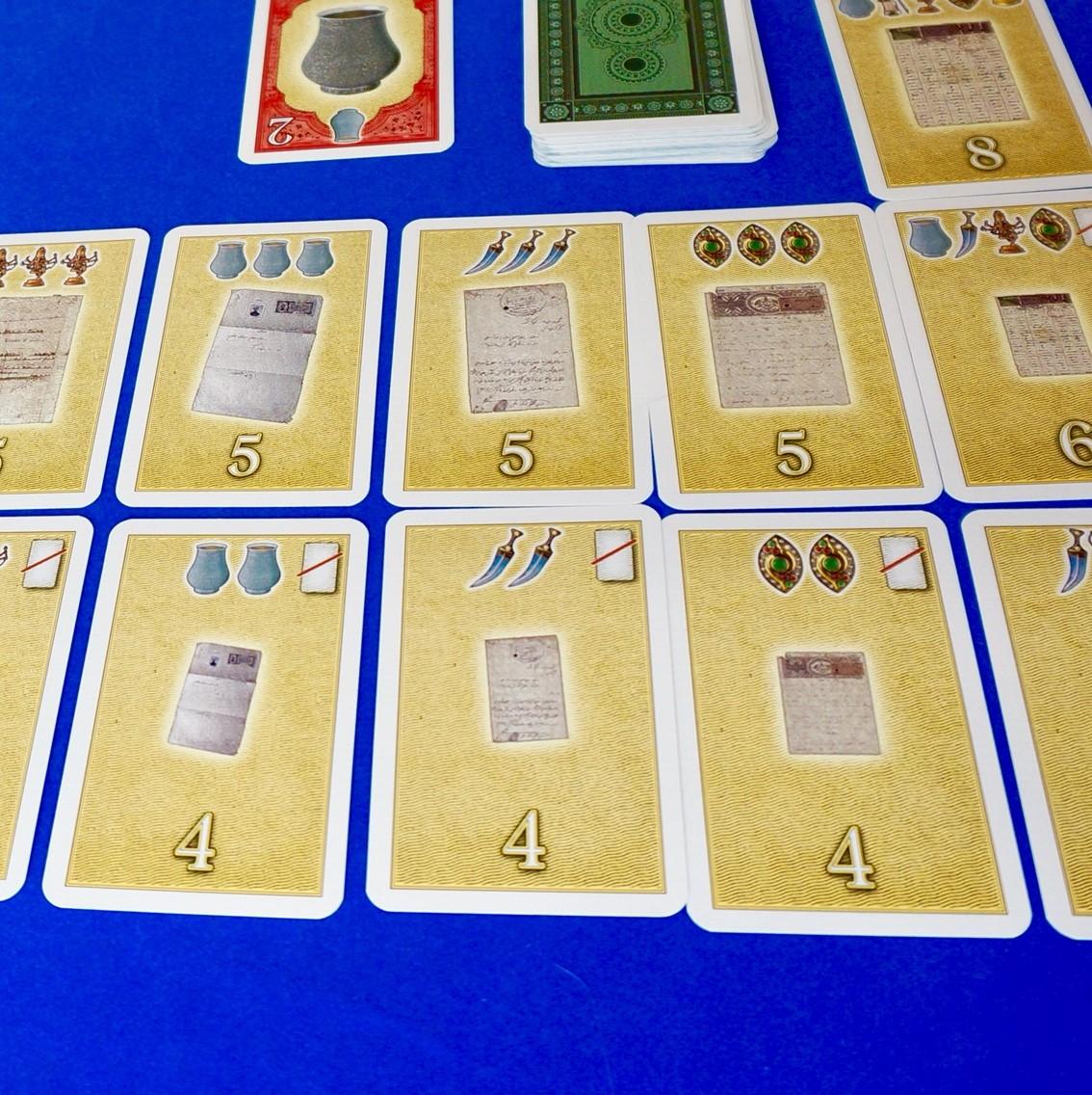 ゲーム紹介『マハラジャの遺産(Das Vermächtnis des Maharaja)』:セットコレクションカード