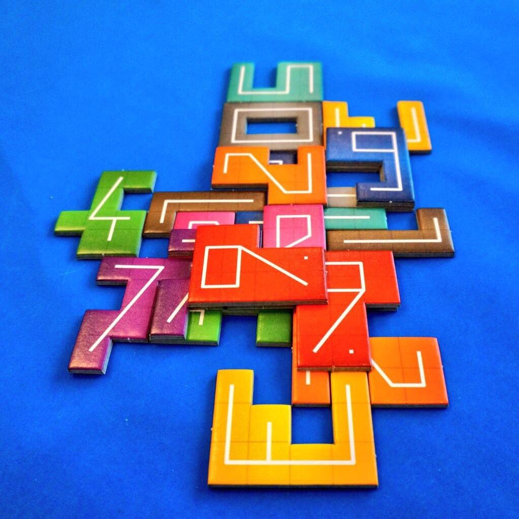 ナンバーナイン (NMBR 9):ゲーム終了時の様子