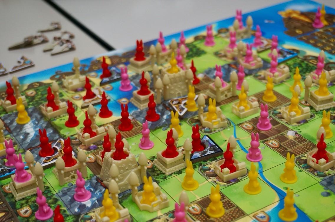 バニーキングダム:ゲーム終了時の様子