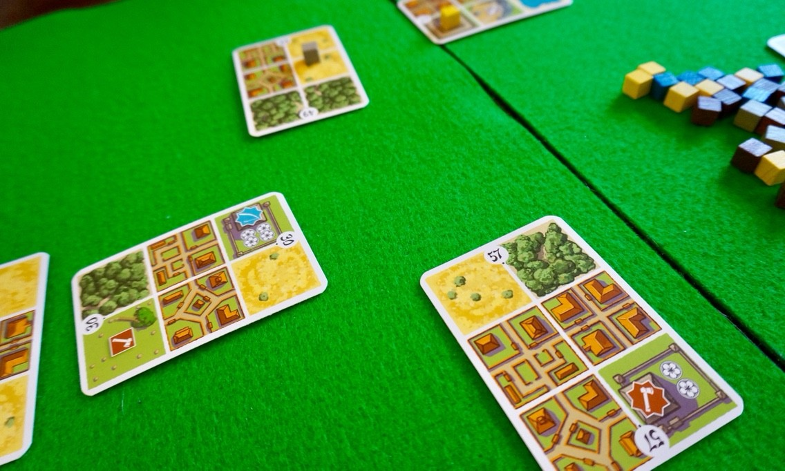 ゲーム紹介『本州(Honshu)』:カードを出す