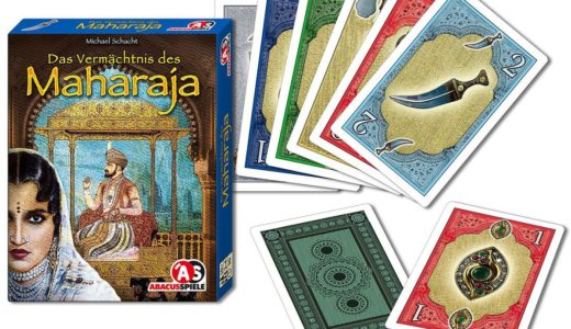 ゲーム紹介『マハラジャの遺産(Das Vermächtnis des Maharaja)』