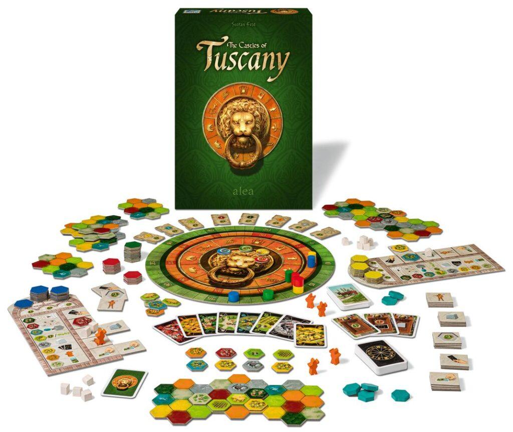 トスカーナの城|コンポーネントイメージ